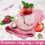 Домашен сладолед с ягоди