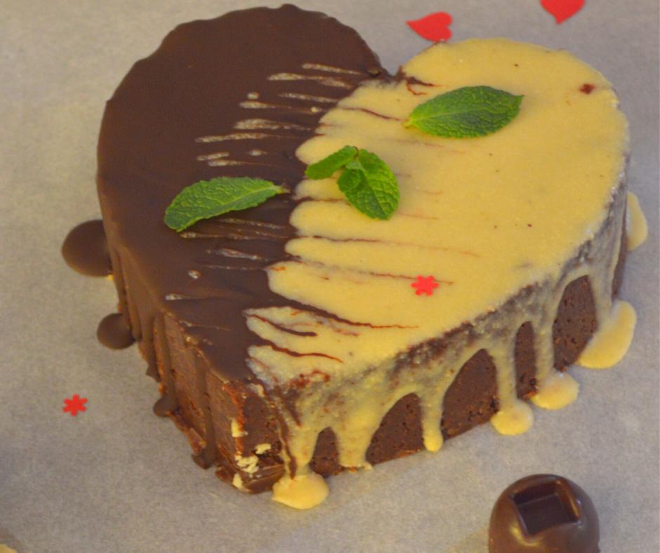 Шоколадово сърце за Свети Валнтин